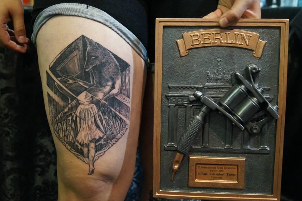 Tattoo by Nayana | 3. místo v kategorii Individual | Berlín 2015